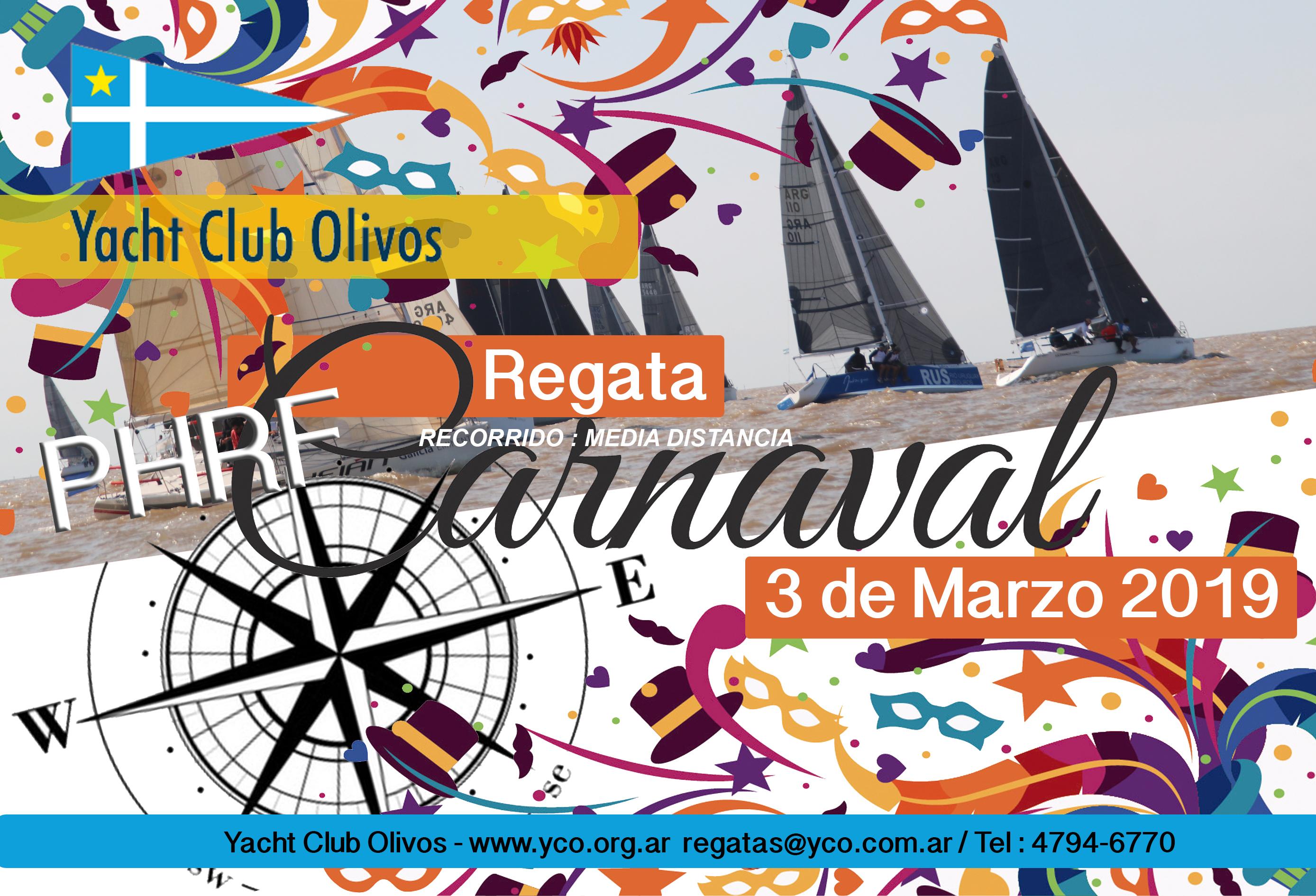 Regata Carnaval 2019 / 1º Fecha Campeonato Abierto PHRF Puerto De Olivos