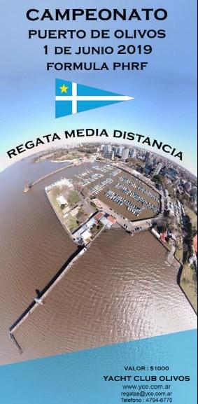 3ª Regata Puerto De Olivos – Bernal En Conjunto Fecha RegaCic