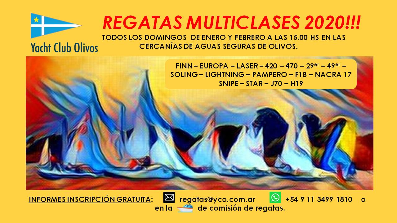 Regatas Multiclases YCO