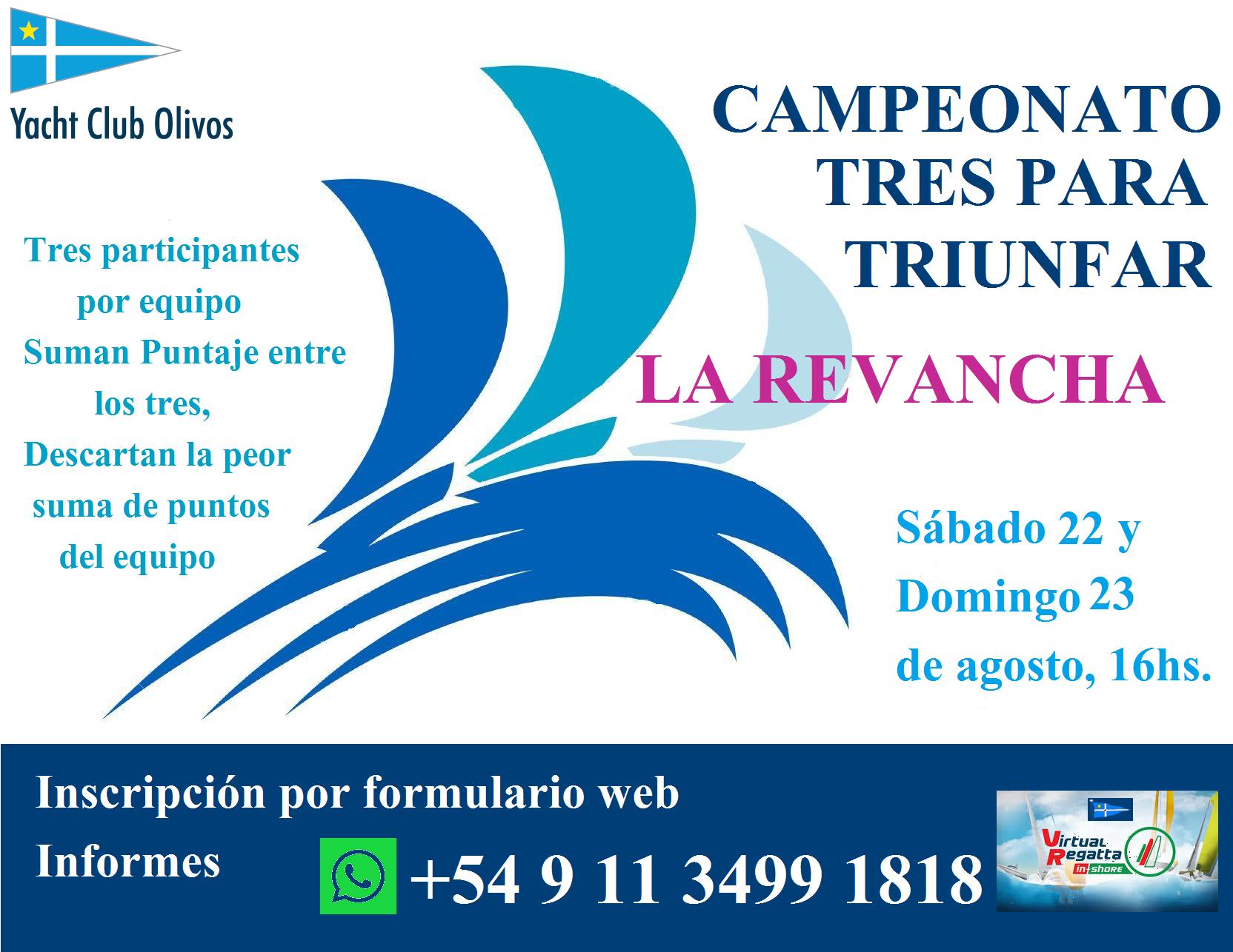 Campeonato Tres Para Triunfar, La Revancha