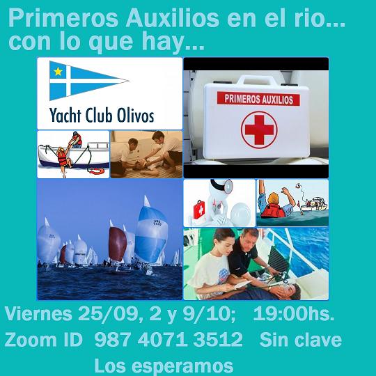 Curso De Primeros Auxilios En El Rio