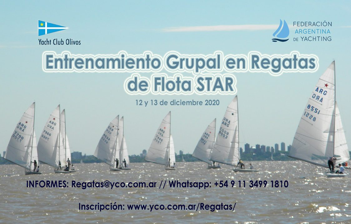 Entrenamiento Grupal En Regatas De Flota STAR